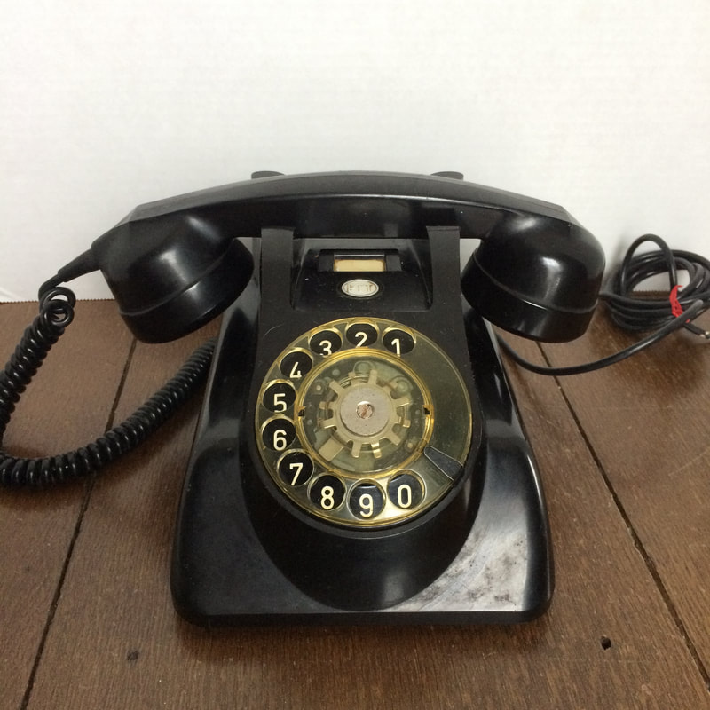 1960s Holland rotary telephone.